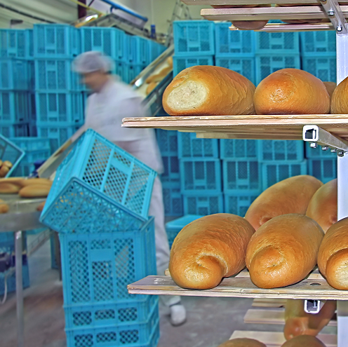 Bakery picking with our management system