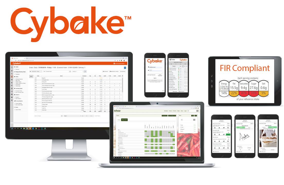 Shows Cybake bakery software family
